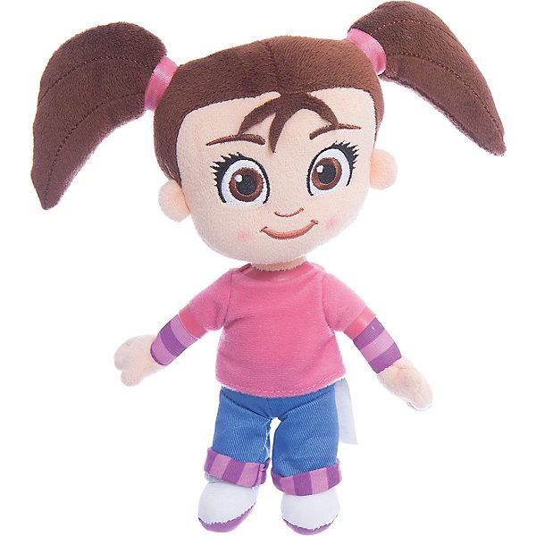Мягкая кукла Катя, 20 см, Катя и Мим-МимКатя и Мим-Мим<br>Мягконабивная кукла, выполненная в виде главной героини популярного мультфильма для детей «Катя и Мим Мим», высотой 20 см. Кукла изготовлена только из мягких текстильных материалов, без использования пластиковых деталей. Симпатичное улыбчивое личико вышито цветными нитками, наполнитель – чистый гипоаллергенный синтепон. Игрушку можно стирать с использованием мягких моющих средств.<br><br>Ширина мм: 90<br>Глубина мм: 110<br>Высота мм: 90<br>Вес г: 147<br>Возраст от месяцев: 36<br>Возраст до месяцев: 120<br>Пол: Женский<br>Возраст: Детский<br>SKU: 4967258