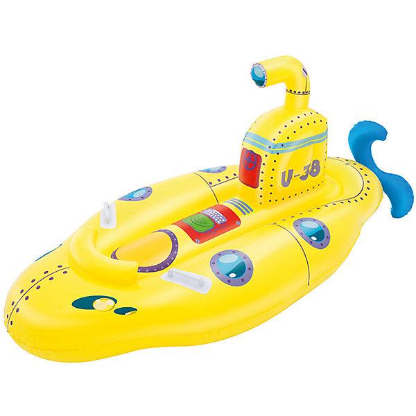 Игрушка для катания верхом Субмарина, BestwayМатрасы и лодки<br>Характеристики товара:<br><br>• материал: винил<br>• размер: 165х86 см<br>• легкий прочный материал<br>• удобное сиденье<br>• продуманная конструкция обеспечивает надежность<br>• надувной <br>• яркий цвет<br>• комфортный<br>• хорошо заметен на воде<br>• возраст: от 3 лет<br>• страна бренда: США, Китай<br>• страна производства: Китай<br>• Внимание! Товар в ассортименте, нет возможности выбрать товар конкретной расцветки. При заказе нескольких штук возможно получение одинаковых.<br><br>Это отличный способ научить малышей не бояться воды и обеспечить детям веселое времяпровождение! Лодочка поможет ребенку больше времени проводить на воде.<br><br>Предмет сделан из прочного материала, но очень легкого - отлично держится на воде. Он легкий и компактный в сдутом виде, его удобно брать с собой. Изделие произведено из качественных и безопасных для детей материалов.<br><br>Игрушку для катания верхом Субмарина, от бренда Bestway (Бествей) можно купить в нашем интернет-магазине.<br><br>Ширина мм: 259<br>Глубина мм: 246<br>Высота мм: 86<br>Вес г: 1163<br>Возраст от месяцев: 36<br>Возраст до месяцев: 84<br>Пол: Унисекс<br>Возраст: Детский<br>SKU: 4967555