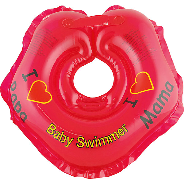 Круг для купания BabySwimmer, красныйТовары для купания<br>Купание младенца– ответственное и важное занятие. Круг для купания Baby Swimmer  обеспечит безопасность процесса, избавит малыша от страха воды и сделает водные процедуры веселой игрой. У круга есть устройство, поддерживающее подбородок, что позволит избежать проглатывание воды малышом. У круга яркие цвета, необычный дизайн и веселые картинки по бокам, которые понравится всем детям. Все материалы, использованные при разработке и изготовлении круга для купания безопасны для использования, отвечают всем требованиям экологичности и качества детских товаров, а так же гипоаллергенны.<br><br>Дополнительная информация:<br><br>модель: Baby Swimmer;<br>цвет: красный.<br><br>Круг для купания Baby Swimmer можно приобрести в нашем магазине.<br><br>Ширина мм: 150<br>Глубина мм: 40<br>Высота мм: 150<br>Вес г: 140<br>Возраст от месяцев: 0<br>Возраст до месяцев: 24<br>Пол: Унисекс<br>Возраст: Детский<br>SKU: 4968090