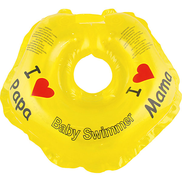 Круг для купания BabySwimmer, желтыйТовары для купания<br>Купание младенца - ответственное и важное занятие. Круг для купания Baby Swimmer  обеспечит безопасность процесса, избавит малыша от страха воды и сделает водные процедуры веселой игрой. У круга есть устройство, поддерживающее подбородок, что позволит избежать проглатывание воды малышом. У круга яркие цвета, необычный дизайн и веселые картинки по бокам, которые понравится всем детям. Все материалы, использованные при разработке и изготовлении круга для купания безопасны для использования, отвечают всем требованиям экологичности и качества детских товаров, а так же гипоаллергенны.<br><br>Дополнительная информация:<br><br>модель: Baby Swimmer;<br>цвет: желтый.<br><br>Круг для купания Baby Swimmer можно приобрести в нашем магазине.<br><br>Ширина мм: 150<br>Глубина мм: 40<br>Высота мм: 150<br>Вес г: 140<br>Возраст от месяцев: 0<br>Возраст до месяцев: 24<br>Пол: Унисекс<br>Возраст: Детский<br>SKU: 4968093