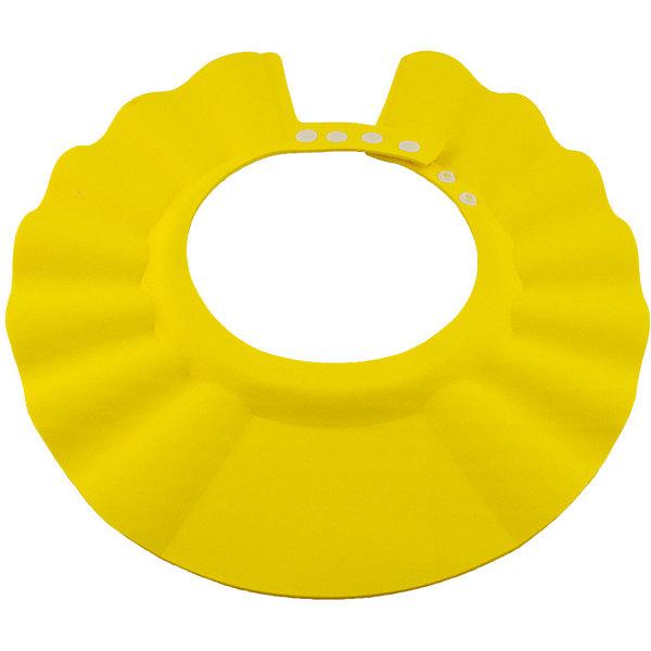 Козырек для душа, BabySwimmer, желтыйТовары для купания<br>Многие малыши боятся купания и воды. причина проста. Им попадает в глазки мыльная вода, которая щиплет слизистую. Козырек для душа станет отличным решением данной проблемы. Конструкция прочно держится на голове, не сдавливая кожу и не доставляя дискомфорт. Глаза и уши ребенка будут всегда защищены от раздражающих жидкостей. Козырек можно использовать для детских парикмахерских услуг. Все материалы, использованные при разработке и изготовлении складной ванночки безопасны для использования, отвечают всем требованиям экологичности и качества детских товаров, а так же гипоаллергенны.<br><br>Дополнительная информация:<br><br>цвет: желтый.<br><br>Козырек для душа Baby Swimmer можно приобрести в нашем магазине.<br><br>Ширина мм: 310<br>Глубина мм: 25<br>Высота мм: 365<br>Вес г: 40<br>Возраст от месяцев: 0<br>Возраст до месяцев: 36<br>Пол: Унисекс<br>Возраст: Детский<br>SKU: 4968120