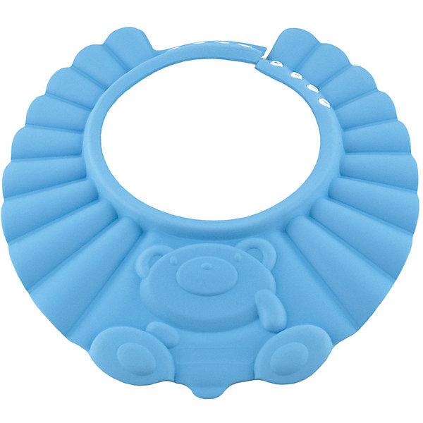 Козырек для душа, BabySwimmer, голубойТовары для купания<br>Многие малыши боятся купания и воды. причина проста. Им попадает в глазки мыльная вода, которая щиплет слизистую. Козырек для душа станет отличным решением данной проблемы. Конструкция прочно держится на голове, не сдавливая кожу и не доставляя дискомфорт. Глаза и уши ребенка будут всегда защищены от раздражающих жидкостей. Козырек можно использовать для детских парикмахерских услуг. Все материалы, использованные при разработке и изготовлении складной ванночки безопасны для использования, отвечают всем требованиям экологичности и качества детских товаров, а так же гипоаллергенны.<br><br>Дополнительная информация:<br><br>цвет: голубой.<br><br>Козырек для душа Baby Swimmer можно приобрести в нашем магазине.<br><br>Ширина мм: 310<br>Глубина мм: 25<br>Высота мм: 365<br>Вес г: 40<br>Возраст от месяцев: 0<br>Возраст до месяцев: 36<br>Пол: Унисекс<br>Возраст: Детский<br>SKU: 4968122