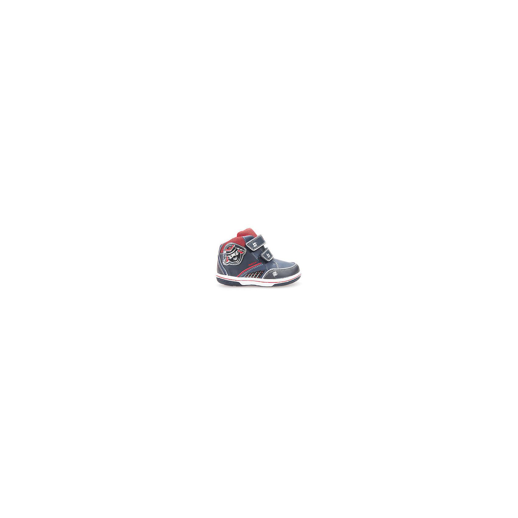 Кроссовки со светодиодами для мальчика GEOXКроссовки GEOX (ГЕОКС)<br>Кроссовки от GEOX (ГЕОКС) выполнены из искусственной кожи, внутренняя отделка из текстиля, стелька из натуральной кожи. Застежки-липучки облегчают снимание и надевание обуви и надежно фиксируют ее на ногах. Колодка соответствует анатомическим особенностям строения детской стопы. Качественная амортизация снижает нагрузку на суставы. Запатентованная гибкая перфорированная подошва со специальной микропористой мембраной обеспечивает естественное дыхание обуви, формирует оптимальный внутренний микроклимат, не пропускает воду.<br><br>Дополнительная информация:<br><br>- Сезон: демисезон<br>- Цвет: красный, синий<br>- Материал верха: искусственная кожа<br>- Внутренний материал: текстиль<br>- Материал стельки: натуральная кожа<br>- Материал подошвы: резина<br>- Тип застежки: липучки<br>- Материалы и продукция прошли специальную проверку T?V S?D, на отсутствие веществ, опасных для здоровья покупателей<br><br>Кроссовки GEOX (ГЕОКС) можно купить в нашем интернет-магазине.<br><br>Ширина мм: 250<br>Глубина мм: 150<br>Высота мм: 150<br>Вес г: 250<br>Цвет: красный/синий<br>Возраст от месяцев: 18<br>Возраст до месяцев: 21<br>Пол: Мужской<br>Возраст: Детский<br>Размер: 23,27,25,24,26<br>SKU: 4968242