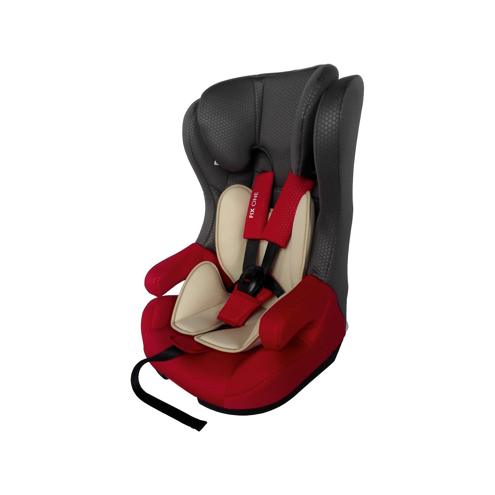 Автокресло Fix One 9-36 кг., Babyhit, красно-серыйДетское автокресло Babyhit Fix One предназначено для детей возрастом от 9 месяцев до 12 лет (весом от 9 до 36 кг). Автокресло может крепиться в автомобиле как при помощи Isofix и штатного ремня, так и только штатным ремнем. Дети весом до 18 кг удерживаются в автокресле внутренними 5-точечными ремнями, а вырастая - штатным ремнем.<br>Подголовник автокресла может регулироваться как по высоте, так и по ширине. Изделие оборудовано системой повышенной боковой защиты Side Impact Protection - это широкие и прочные боковины, которые надежно защищают голову и туловище ребенка в случае боковых ударов. Повышенная надежность изделия обеспечивается и высококачественными материалами корпуса.<br>В комплекте с автокреслом предусмотрен мягкий вкладыш, применяемый при перевозке маленьких детей. Пористая съемная обивка, состоящая из экологически чистых гипоаллергенных материалов, способствует рециркуляции воздуха и предотвращает потение ребенка в жаркую погоду.<br><br>ОСОБЕННОСТИ:<br>• устанавливается по направлению движения и подходит для детей от 9 до 36 кг;<br>• система защиты при боковом столкновении;<br>• 5-ти точечные ремни безопасности;<br>• высокопрочный материал;<br>• мягкий вкладыш;<br>• съемный чехол;<br>• система крепления isofix<br>• соответствует европейским стандартам безопасности ECE R 44/04.<br><br>Дополнительная информация:<br><br>- для детей от 1 года до 12 лет (от 9 до 36 кг.)<br>- съемный чехол<br>- выраженная боковая защита<br>- мягкий вкладыш<br>- 5-ти точечные ремни безопасности<br>- регулировка ремней по глубине и высоте<br>- система крепления Isofix<br><br>Автокресло  Babyhit Fix One 9-36 кг., можно купить в нашем интернет-магазине.<br><br>Ширина мм: 500<br>Глубина мм: 440<br>Высота мм: 780<br>Вес г: 9000<br>Возраст от месяцев: 6<br>Возраст до месяцев: 144<br>Пол: Унисекс<br>Возраст: Детский<br>SKU: 4968982