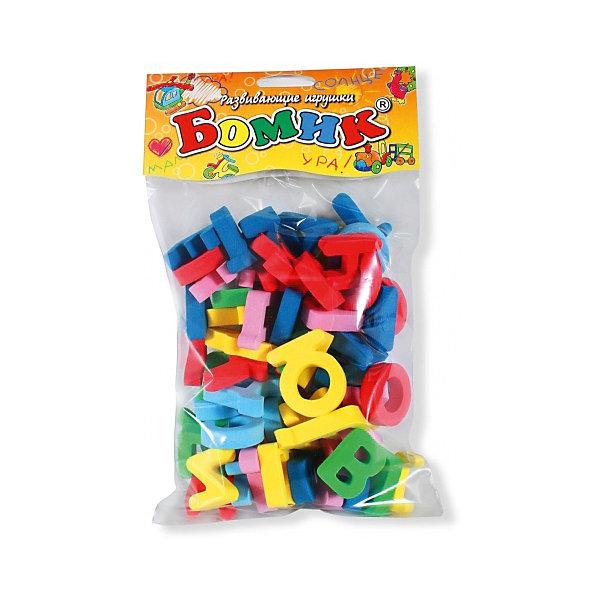 Русский алфавит россыпью 63 буквы, Мир деревянных игрушек