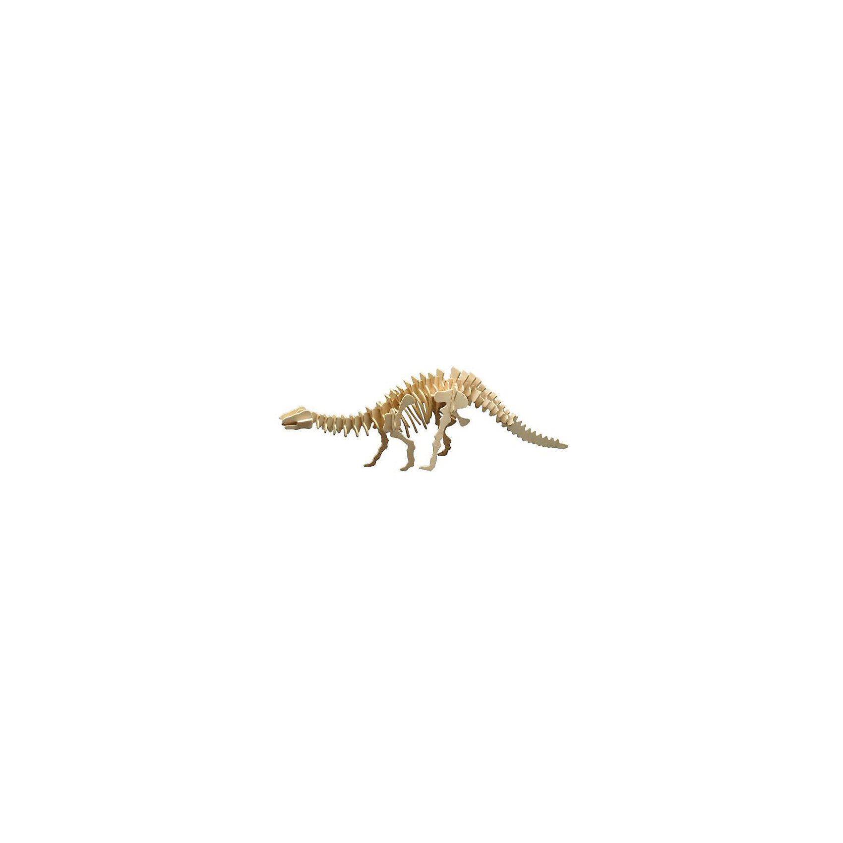 Апатозавр (серия Ж), Мир деревянных игрушекДеревянные модели<br>Бренд Мир деревянных игрушек дает ребенку возможность самому сделать красивую деревянную фигуру! Специально для любящих творчество и интересующихся вымершими животными были разработаны эти 3D-пазлы. Из них получаются красивые очень реалистичные фигуры, которые могут стать украшением комнаты.<br>Собирая их, ребенок будет учиться соотносить фигуры, развивать пространственное мышление, память и мелкую моторику. А раскрашивая готовое произведение, дети научатся подбирать цвета и будут развивать художественные навыки. Этот набор произведен из качественных и безопасных для детей материалов - дерево тщательно обработано.<br><br>Дополнительная информация:<br><br>материал: дерево;<br>цвет: бежевый;<br>элементы: пластины с деталями для сборки;<br>размер упаковки: 23 х 18 см.<br><br>3D-пазл Апатозавр (серия Ж) от бренда Мир деревянных игрушек можно купить в нашем магазине.<br><br>Ширина мм: 225<br>Глубина мм: 30<br>Высота мм: 180<br>Вес г: 700<br>Возраст от месяцев: 36<br>Возраст до месяцев: 144<br>Пол: Унисекс<br>Возраст: Детский<br>SKU: 4969034