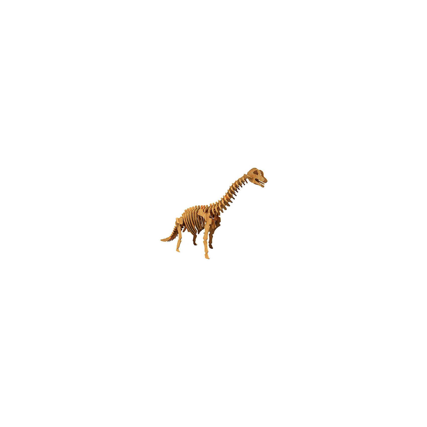 Брахиозавр (серия Ж), Мир деревянных игрушекДеревянные модели<br>Отличный способ для ребенка с пользой провести время и развить свои навыки - сделать деревянную игрушку самому! Специально для любящих творчество и интересующихся вымершими животными были разработаны эти 3D-пазлы. Из них получаются красивые очень реалистичные фигуры, которые могут стать украшением комнаты.<br>Собирая их, ребенок будет учиться соотносить фигуры, развивать пространственное мышление, память и мелкую моторику. А раскрашивая готовое произведение, дети научатся подбирать цвета и будут развивать художественные навыки. Этот набор произведен из качественных и безопасных для детей материалов - дерево тщательно обработано.<br><br>Дополнительная информация:<br><br>материал: дерево;<br>цвет: бежевый;<br>элементы: пластины с деталями для сборки;<br>размер упаковки: 23 х 37 см.<br><br>3D-пазл Брахиозавр (серия Ж) от бренда Мир деревянных игрушек можно купить в нашем магазине.<br><br>Ширина мм: 350<br>Глубина мм: 30<br>Высота мм: 225<br>Вес г: 50<br>Возраст от месяцев: 36<br>Возраст до месяцев: 144<br>Пол: Унисекс<br>Возраст: Детский<br>SKU: 4969043