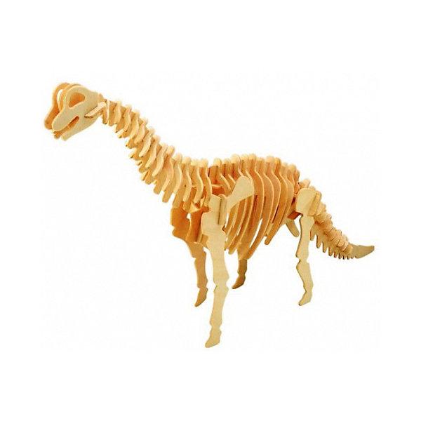 Брахиозавр ( мал. серия Ж), Мир деревянных игрушекДеревянные модели<br>Удачный вариант подарка для творческого ребенка - этот набор, из которого можно самому сделать красивую деревянную фигуру! Для этого нужно выдавить из пластины с деталями элементы для сборки и соединить их. Специально для любящих творчество и интересующихся вымершими животными были разработаны эти 3D-пазлы. Из них получаются красивые очень реалистичные фигуры, которые могут стать украшением комнаты.<br>Собирая их, ребенок будет учиться соотносить фигуры, развивать пространственное мышление, память и мелкую моторику. А раскрашивая готовое произведение, дети научатся подбирать цвета и будут развивать художественные навыки. Этот набор произведен из качественных и безопасных для детей материалов - дерево тщательно обработано.<br><br>Дополнительная информация:<br><br>материал: дерево;<br>цвет: бежевый;<br>элементы: пластины с деталями для сборки;<br>размер упаковки: 23 х 18 см.<br><br>3D-пазл Брахиозавр ( мал. серия Ж) от бренда Мир деревянных игрушек можно купить в нашем магазине.<br>Ширина мм: 225; Глубина мм: 30; Высота мм: 180; Вес г: 400; Возраст от месяцев: 36; Возраст до месяцев: 144; Пол: Унисекс; Возраст: Детский; SKU: 4969044;