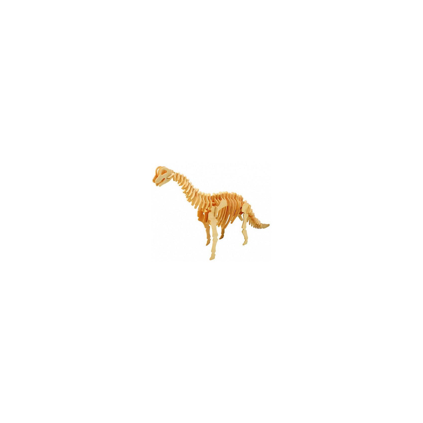 Брахиозавр ( мал. серия Ж), Мир деревянных игрушекРукоделие<br>Удачный вариант подарка для творческого ребенка - этот набор, из которого можно самому сделать красивую деревянную фигуру! Для этого нужно выдавить из пластины с деталями элементы для сборки и соединить их. Специально для любящих творчество и интересующихся вымершими животными были разработаны эти 3D-пазлы. Из них получаются красивые очень реалистичные фигуры, которые могут стать украшением комнаты.<br>Собирая их, ребенок будет учиться соотносить фигуры, развивать пространственное мышление, память и мелкую моторику. А раскрашивая готовое произведение, дети научатся подбирать цвета и будут развивать художественные навыки. Этот набор произведен из качественных и безопасных для детей материалов - дерево тщательно обработано.<br><br>Дополнительная информация:<br><br>материал: дерево;<br>цвет: бежевый;<br>элементы: пластины с деталями для сборки;<br>размер упаковки: 23 х 18 см.<br><br>3D-пазл Брахиозавр ( мал. серия Ж) от бренда Мир деревянных игрушек можно купить в нашем магазине.<br><br>Ширина мм: 225<br>Глубина мм: 30<br>Высота мм: 180<br>Вес г: 400<br>Возраст от месяцев: 36<br>Возраст до месяцев: 144<br>Пол: Унисекс<br>Возраст: Детский<br>SKU: 4969044