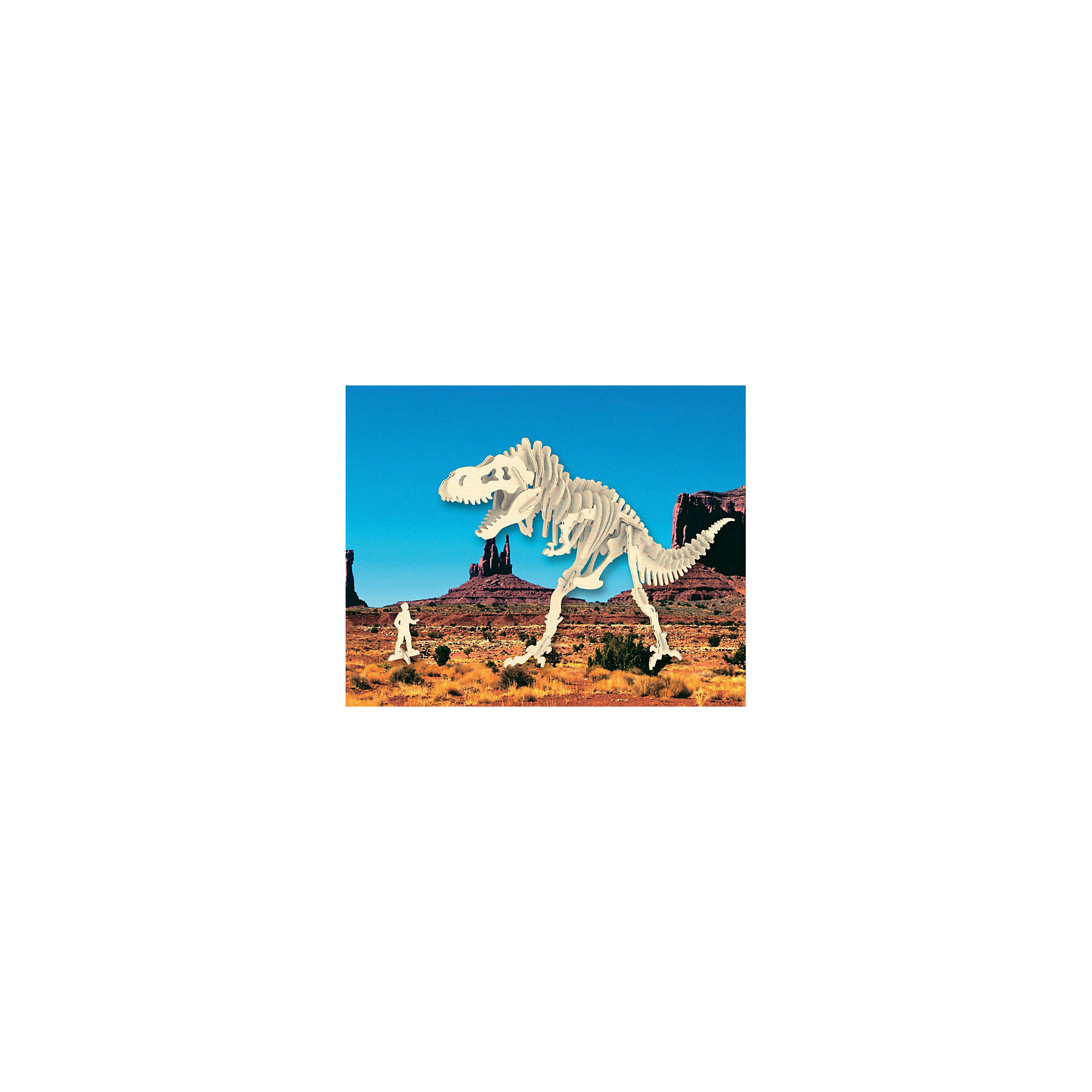 Тиранозавр (серия Ж), Мир деревянных игрушекУдачный вариант подарка для творческого ребенка - этот набор, из которого можно самому сделать красивую деревянную фигуру! Для этого нужно выдавить из пластины с деталями элементы для сборки и соединить их. Специально для любящих творчество и интересующихся вымершими животными были разработаны эти 3D-пазлы. Из них получаются красивые очень реалистичные фигуры, которые могут стать украшением комнаты.<br>Собирая их, ребенок будет учиться соотносить фигуры, развивать пространственное мышление, память и мелкую моторику. А раскрашивая готовое произведение, дети научатся подбирать цвета и будут развивать художественные навыки. Этот набор произведен из качественных и безопасных для детей материалов - дерево тщательно обработано.<br><br>Дополнительная информация:<br><br>материал: дерево;<br>цвет: бежевый;<br>элементы: пластины с деталями для сборки;<br>размер упаковки: 23 х 18 см.<br><br>3D-пазл Тиранозавр (серия Ж) от бренда Мир деревянных игрушек можно купить в нашем магазине.<br><br>Ширина мм: 225<br>Глубина мм: 30<br>Высота мм: 180<br>Вес г: 650<br>Возраст от месяцев: 36<br>Возраст до месяцев: 144<br>Пол: Унисекс<br>Возраст: Детский<br>SKU: 4969045