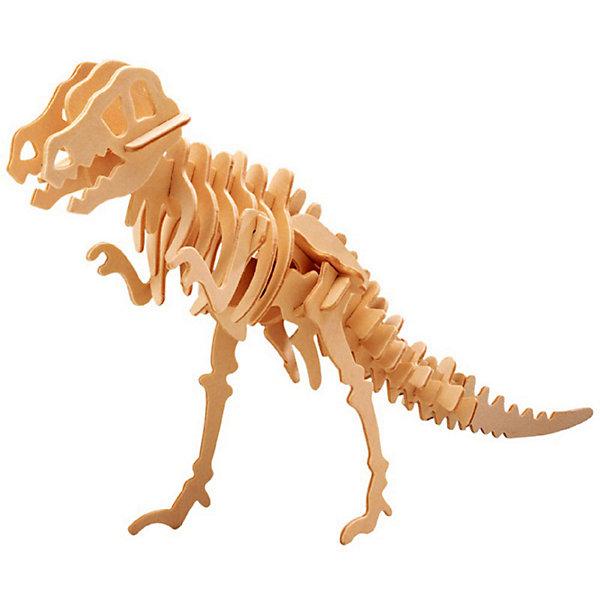 Тиранозавр (мал. серия Ж), Мир деревянных игрушекДеревянные модели<br>Бренд Мир деревянных игрушек дает ребенку возможность самому сделать красивую деревянную фигуру! Специально для любящих творчество и интересующихся вымершими животными были разработаны эти 3D-пазлы. Из них получаются красивые очень реалистичные фигуры, которые могут стать украшением комнаты.<br>Собирая их, ребенок будет учиться соотносить фигуры, развивать пространственное мышление, память и мелкую моторику. А раскрашивая готовое произведение, дети научатся подбирать цвета и будут развивать художественные навыки. Этот набор произведен из качественных и безопасных для детей материалов - дерево тщательно обработано.<br><br>Дополнительная информация:<br><br>материал: дерево;<br>цвет: бежевый;<br>элементы: пластины с деталями для сборки;<br>размер упаковки: 23 х 18 см.<br><br>3D-пазл Тиранозавр (мал. серия Ж) от бренда Мир деревянных игрушек можно купить в нашем магазине.<br><br>Ширина мм: 225<br>Глубина мм: 30<br>Высота мм: 180<br>Вес г: 350<br>Возраст от месяцев: 36<br>Возраст до месяцев: 144<br>Пол: Унисекс<br>Возраст: Детский<br>SKU: 4969046