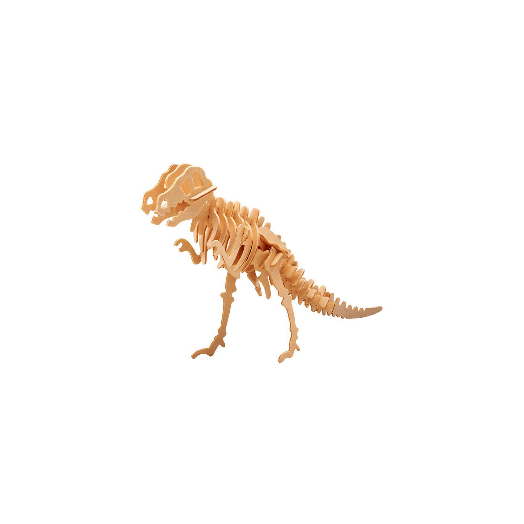 Тиранозавр (мал. серия Ж), Мир деревянных игрушекБренд Мир деревянных игрушек дает ребенку возможность самому сделать красивую деревянную фигуру! Специально для любящих творчество и интересующихся вымершими животными были разработаны эти 3D-пазлы. Из них получаются красивые очень реалистичные фигуры, которые могут стать украшением комнаты.<br>Собирая их, ребенок будет учиться соотносить фигуры, развивать пространственное мышление, память и мелкую моторику. А раскрашивая готовое произведение, дети научатся подбирать цвета и будут развивать художественные навыки. Этот набор произведен из качественных и безопасных для детей материалов - дерево тщательно обработано.<br><br>Дополнительная информация:<br><br>материал: дерево;<br>цвет: бежевый;<br>элементы: пластины с деталями для сборки;<br>размер упаковки: 23 х 18 см.<br><br>3D-пазл Тиранозавр (мал. серия Ж) от бренда Мир деревянных игрушек можно купить в нашем магазине.<br><br>Ширина мм: 225<br>Глубина мм: 30<br>Высота мм: 180<br>Вес г: 350<br>Возраст от месяцев: 36<br>Возраст до месяцев: 144<br>Пол: Унисекс<br>Возраст: Детский<br>SKU: 4969046