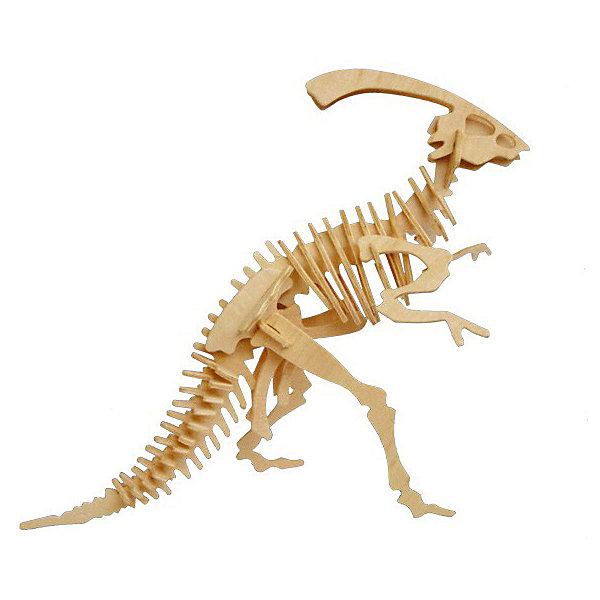 Паразауролоф (серия Ж), Мир деревянных игрушекДеревянные модели<br>Удачный вариант подарка для творческого ребенка - этот набор, из которого можно самому сделать красивую деревянную фигуру! Для этого нужно выдавить из пластины с деталями элементы для сборки и соединить их. Специально для любящих творчество и интересующихся вымершими животными были разработаны эти 3D-пазлы. Из них получаются красивые очень реалистичные фигуры, которые могут стать украшением комнаты.<br>Собирая их, ребенок будет учиться соотносить фигуры, развивать пространственное мышление, память и мелкую моторику. А раскрашивая готовое произведение, дети научатся подбирать цвета и будут развивать художественные навыки. Этот набор произведен из качественных и безопасных для детей материалов - дерево тщательно обработано.<br><br>Дополнительная информация:<br><br>материал: дерево;<br>цвет: бежевый;<br>элементы: пластины с деталями для сборки;<br>размер упаковки: 23 х 18 см.<br><br>3D-пазл Паразауролоф (серия Ж) от бренда Мир деревянных игрушек можно купить в нашем магазине.<br>Ширина мм: 225; Глубина мм: 30; Высота мм: 180; Вес г: 845; Возраст от месяцев: 36; Возраст до месяцев: 144; Пол: Унисекс; Возраст: Детский; SKU: 4969047;