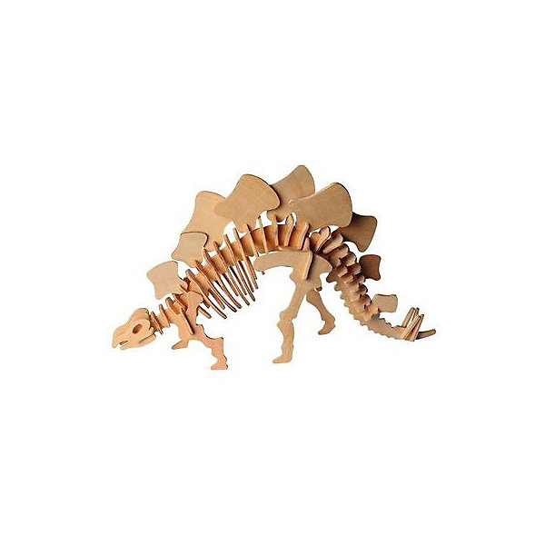 Стегозавр (2 серия Ж), Мир деревянных игрушекДеревянные модели<br>Бренд Мир деревянных игрушек дает ребенку возможность самому сделать красивую деревянную фигуру! Специально для любящих творчество и интересующихся вымершими животными были разработаны эти 3D-пазлы. Из них получаются красивые очень реалистичные фигуры, которые могут стать украшением комнаты.<br>Собирая их, ребенок будет учиться соотносить фигуры, развивать пространственное мышление, память и мелкую моторику. А раскрашивая готовое произведение, дети научатся подбирать цвета и будут развивать художественные навыки. Этот набор произведен из качественных и безопасных для детей материалов - дерево тщательно обработано.<br><br>Дополнительная информация:<br><br>материал: дерево;<br>цвет: бежевый;<br>элементы: пластины с деталями для сборки;<br>размер упаковки: 23 х 18 см.<br><br>3D-пазл Стегозавр (2 серия Ж) от бренда Мир деревянных игрушек можно купить в нашем магазине.<br>Ширина мм: 225; Глубина мм: 30; Высота мм: 180; Вес г: 846; Возраст от месяцев: 36; Возраст до месяцев: 144; Пол: Унисекс; Возраст: Детский; SKU: 4969048;