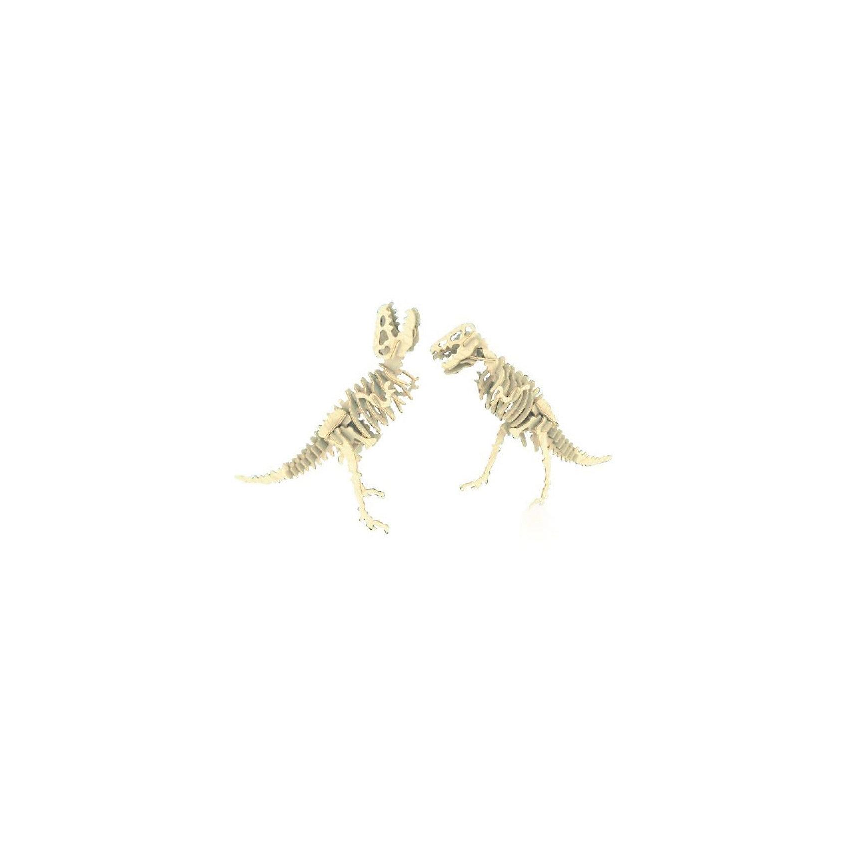 Тиранозавр (2в1), Мир деревянных игрушекБренд Мир деревянных игрушек дает ребенку возможность самому сделать красивую деревянную фигуру! Специально для любящих творчество и интересующихся вымершими животными были разработаны эти 3D-пазлы. Из них получаются красивые очень реалистичные фигуры, которые могут стать украшением комнаты.<br>Собирая их, ребенок будет учиться соотносить фигуры, развивать пространственное мышление, память и мелкую моторику. А раскрашивая готовое произведение, дети научатся подбирать цвета и будут развивать художественные навыки. Этот набор произведен из качественных и безопасных для детей материалов - дерево тщательно обработано.<br><br>Дополнительная информация:<br><br>материал: дерево;<br>цвет: бежевый;<br>элементы:62 шт;<br>комплектация: детали для сборки двух игрушек,наждачная бумага;<br>размер упаковки: 23 х 18 см.<br><br>3D-пазл Тиранозавр (2в1) от бренда Мир деревянных игрушек можно купить в нашем магазине.<br><br>Ширина мм: 225<br>Глубина мм: 30<br>Высота мм: 180<br>Вес г: 450<br>Возраст от месяцев: 36<br>Возраст до месяцев: 144<br>Пол: Унисекс<br>Возраст: Детский<br>SKU: 4969052