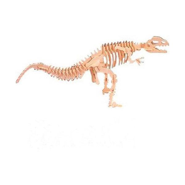 Дилопхозавр, Мир деревянных игрушекДеревянные модели<br>Удачный вариант подарка для творческого ребенка - этот набор, из которого можно самому сделать красивую деревянную фигуру! Для этого нужно выдавить из пластины с деталями элементы для сборки и соединить их. Специально для любящих творчество и интересующихся вымершими животными были разработаны эти 3D-пазлы. Из них получаются красивые очень реалистичные фигуры, которые могут стать украшением комнаты.<br>Собирая их, ребенок будет учиться соотносить фигуры, развивать пространственное мышление, память и мелкую моторику. А раскрашивая готовое произведение, дети научатся подбирать цвета и будут развивать художественные навыки. Этот набор произведен из качественных и безопасных для детей материалов - дерево тщательно обработано.<br><br>Дополнительная информация:<br><br>материал: дерево;<br>цвет: бежевый;<br>элементы: пластины с деталями для сборки;<br>размер упаковки: 23 х 18 см.<br><br>3D-пазл Дилопхозавр от бренда Мир деревянных игрушек можно купить в нашем магазине.<br><br>Ширина мм: 225<br>Глубина мм: 30<br>Высота мм: 180<br>Вес г: 450<br>Возраст от месяцев: 36<br>Возраст до месяцев: 144<br>Пол: Унисекс<br>Возраст: Детский<br>SKU: 4969055