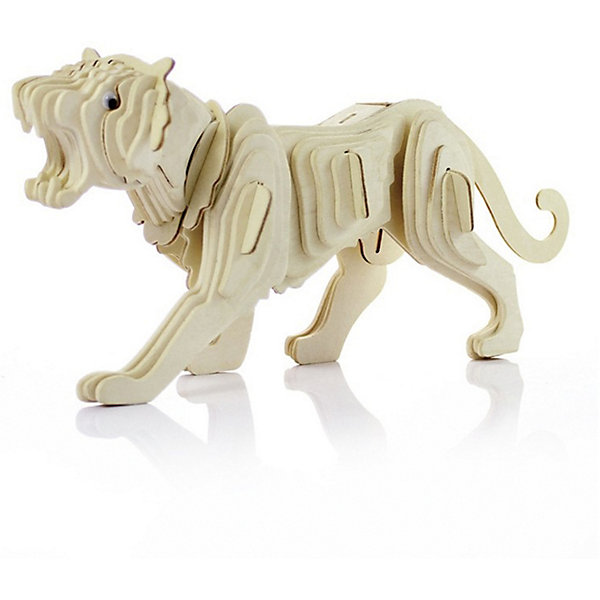 Тигр (серия М), Мир деревянных игрушекДеревянные модели<br>Развивать свои способности ребенок может, сам собирая деревянные фигуры! Специально для любящих творчество и интересующихся животным миром были разработаны эти 3D-пазлы. Из них получаются красивые очень реалистичные фигуры, которые могут стать украшением комнаты. Для этого нужно выдавить из пластины с деталями элементы для сборки и соединить их. <br>Собирая их, ребенок будет учиться соотносить фигуры, развивать пространственное мышление, память и мелкую моторику. А раскрашивая готовое произведение, дети научатся подбирать цвета и будут развивать художественные навыки. Этот набор произведен из качественных и безопасных для детей материалов - дерево тщательно обработано.<br><br>Дополнительная информация:<br><br>материал: дерево;<br>цвет: бежевый;<br>элементы: пластины с деталями для сборки;<br>размер упаковки: 23 х 37 см.<br><br>3D-пазл Тигр (серия М) от бренда Мир деревянных игрушек можно купить в нашем магазине.<br><br>Ширина мм: 250<br>Глубина мм: 50<br>Высота мм: 225<br>Вес г: 450<br>Возраст от месяцев: 36<br>Возраст до месяцев: 144<br>Пол: Унисекс<br>Возраст: Детский<br>SKU: 4969060