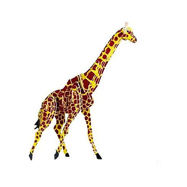 Жираф (серия М), Мир деревянных игрушекДеревянные модели<br>Развивать свои способности ребенок может, сам собирая деревянные фигуры! Специально для любящих творчество и интересующихся животным миром были разработаны эти 3D-пазлы. Из них получаются красивые очень реалистичные фигуры, которые могут стать украшением комнаты. Для этого нужно выдавить из пластины с деталями элементы для сборки и соединить их. <br>Собирая их, ребенок будет учиться соотносить фигуры, развивать пространственное мышление, память и мелкую моторику. А раскрашивая готовое произведение, дети научатся подбирать цвета и будут развивать художественные навыки. Этот набор произведен из качественных и безопасных для детей материалов - дерево тщательно обработано.<br><br>Дополнительная информация:<br><br>материал: дерево;<br>цвет: бежевый;<br>элементы: пластины с деталями для сборки;<br>размер упаковки: 23 х 18 см.<br><br>3D-пазл Жираф (серия М) от бренда Мир деревянных игрушек можно купить в нашем магазине.<br>Ширина мм: 225; Глубина мм: 30; Высота мм: 180; Вес г: 450; Возраст от месяцев: 36; Возраст до месяцев: 144; Пол: Унисекс; Возраст: Детский; SKU: 4969073;