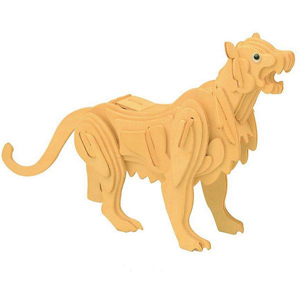 Горный лев, Мир деревянных игрушекДеревянные модели<br>Развивать свои способности ребенок может, сам собирая деревянные фигуры! Специально для любящих творчество и интересующихся животным миром были разработаны эти 3D-пазлы. Из них получаются красивые очень реалистичные фигуры, которые могут стать украшением комнаты. Для этого нужно выдавить из пластины с деталями элементы для сборки и соединить их. <br>Собирая их, ребенок будет учиться соотносить фигуры, развивать пространственное мышление, память и мелкую моторику. А раскрашивая готовое произведение, дети научатся подбирать цвета и будут развивать художественные навыки. Этот набор произведен из качественных и безопасных для детей материалов - дерево тщательно обработано.<br><br>Дополнительная информация:<br><br>материал: дерево;<br>цвет: бежевый;<br>элементы: пластины с деталями для сборки;<br>размер упаковки: 23 х 18 см.<br><br>3D-пазл Горный лев от бренда Мир деревянных игрушек можно купить в нашем магазине.<br><br>Ширина мм: 225<br>Глубина мм: 30<br>Высота мм: 180<br>Вес г: 450<br>Возраст от месяцев: 36<br>Возраст до месяцев: 144<br>Пол: Унисекс<br>Возраст: Детский<br>SKU: 4969077