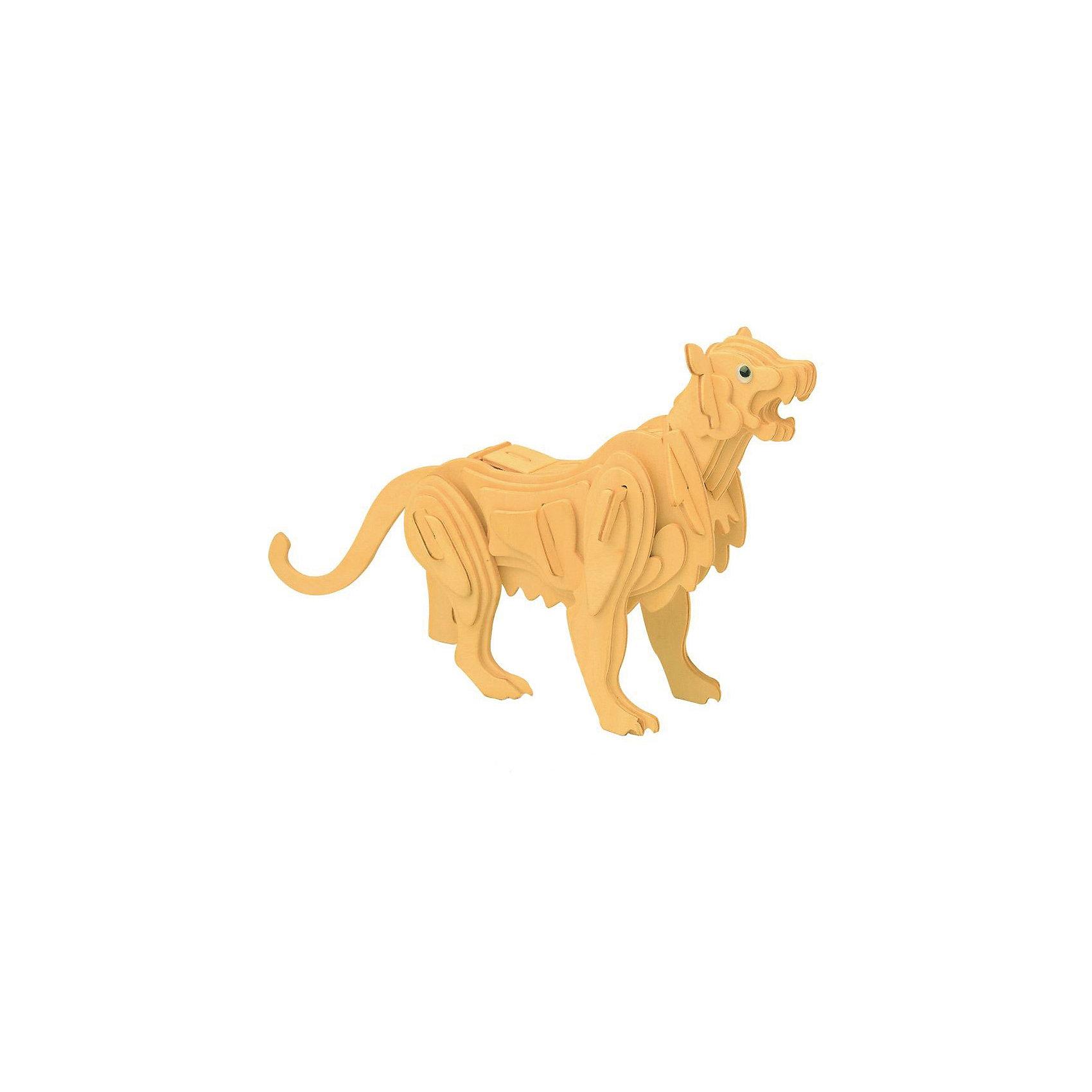 Горный лев, Мир деревянных игрушекРукоделие<br>Развивать свои способности ребенок может, сам собирая деревянные фигуры! Специально для любящих творчество и интересующихся животным миром были разработаны эти 3D-пазлы. Из них получаются красивые очень реалистичные фигуры, которые могут стать украшением комнаты. Для этого нужно выдавить из пластины с деталями элементы для сборки и соединить их. <br>Собирая их, ребенок будет учиться соотносить фигуры, развивать пространственное мышление, память и мелкую моторику. А раскрашивая готовое произведение, дети научатся подбирать цвета и будут развивать художественные навыки. Этот набор произведен из качественных и безопасных для детей материалов - дерево тщательно обработано.<br><br>Дополнительная информация:<br><br>материал: дерево;<br>цвет: бежевый;<br>элементы: пластины с деталями для сборки;<br>размер упаковки: 23 х 18 см.<br><br>3D-пазл Горный лев от бренда Мир деревянных игрушек можно купить в нашем магазине.<br><br>Ширина мм: 225<br>Глубина мм: 30<br>Высота мм: 180<br>Вес г: 450<br>Возраст от месяцев: 36<br>Возраст до месяцев: 144<br>Пол: Унисекс<br>Возраст: Детский<br>SKU: 4969077