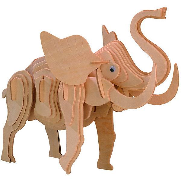 Маленький слон, Мир деревянных игрушекДеревянные модели<br>Отличный вариант подарка для творческого ребенка - этот набор, из которого можно самому сделать красивую деревянную фигуру! Для этого нужно выдавить из пластины с деталями элементы для сборки и соединить их. Из наборов получаются красивые очень реалистичные игрушки, которые могут стать украшением комнаты.<br>Собирая их, ребенок будет учиться соотносить фигуры, развивать пространственное мышление, память и мелкую моторику. А раскрашивая готовое произведение, дети научатся подбирать цвета и будут развивать художественные навыки. Этот набор произведен из качественных и безопасных для детей материалов - дерево тщательно обработано.<br><br>Дополнительная информация:<br><br>материал: дерево;<br>цвет: бежевый;<br>элементы: пластины с деталями для сборки;<br>размер упаковки: 23 х 18 см.<br><br>3D-пазл Маленький слон от бренда Мир деревянных игрушек можно купить в нашем магазине.<br>Ширина мм: 225; Глубина мм: 30; Высота мм: 180; Вес г: 450; Возраст от месяцев: 36; Возраст до месяцев: 144; Пол: Унисекс; Возраст: Детский; SKU: 4969080;