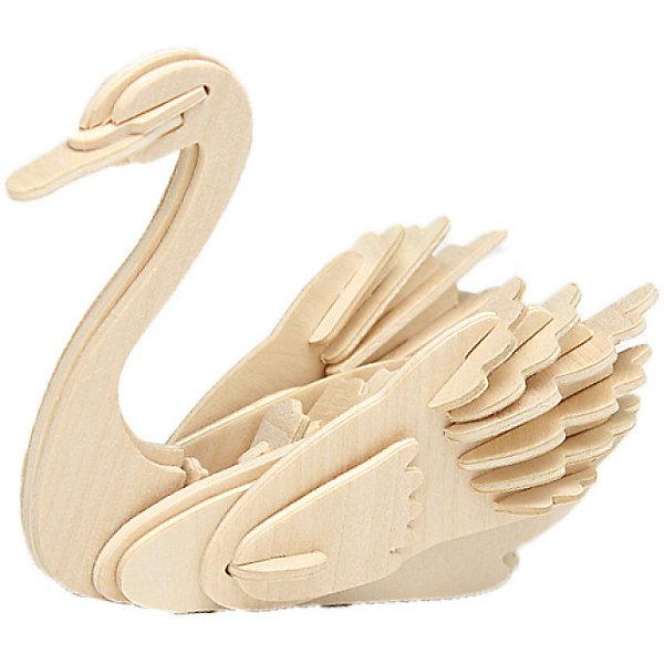 Лебедь (серия М), Мир деревянных игрушекДеревянные модели<br>Развивать свои способности ребенок может, сам собирая деревянные фигуры! Специально для любящих творчество и интересующихся животным миром были разработаны эти 3D-пазлы. Из них получаются красивые очень реалистичные фигуры, которые могут стать украшением комнаты. Для этого нужно выдавить из пластины с деталями элементы для сборки и соединить их. <br>Собирая их, ребенок будет учиться соотносить фигуры, развивать пространственное мышление, память и мелкую моторику. А раскрашивая готовое произведение, дети научатся подбирать цвета и будут развивать художественные навыки. Этот набор произведен из качественных и безопасных для детей материалов - дерево тщательно обработано.<br><br>Дополнительная информация:<br><br>материал: дерево;<br>цвет: бежевый;<br>элементы: пластины с деталями для сборки;<br>размер упаковки: 23 х 18 см.<br><br>3D-пазл Лебедь (серия М) от бренда Мир деревянных игрушек можно купить в нашем магазине.<br><br>Ширина мм: 225<br>Глубина мм: 30<br>Высота мм: 180<br>Вес г: 450<br>Возраст от месяцев: 36<br>Возраст до месяцев: 144<br>Пол: Унисекс<br>Возраст: Детский<br>SKU: 4969084