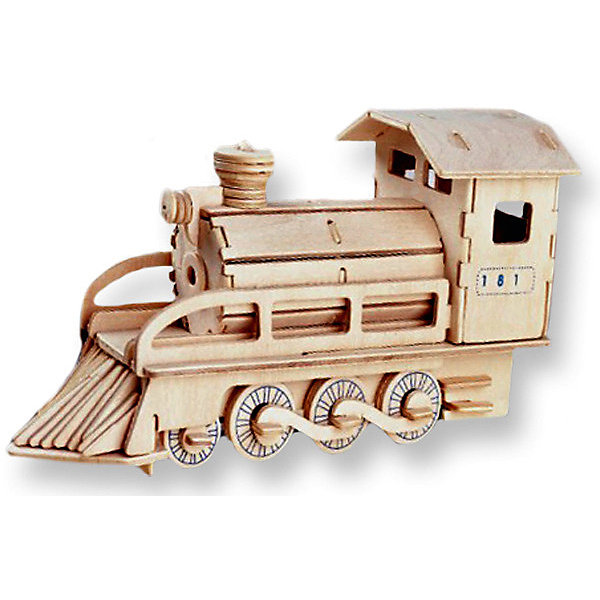 Локомотив, Мир деревянных игрушекДеревянные модели<br>Порадовать любящего технику творческого ребенка - легко! Подарите ему этот набор, из которого можно самому сделать красивую деревянную фигуру. Для этого нужно выдавить из пластины с деталями элементы для сборки и соединить их. Из наборов получаются красивые очень реалистичные игрушки, которые могут стать украшением комнаты.<br>Собирая их, ребенок будет развивать пространственное мышление, память и мелкую моторику. А раскрашивая готовое произведение, дети научатся подбирать цвета и будут развивать художественные навыки. Этот набор произведен из качественных и безопасных для детей материалов - дерево тщательно обработано.<br><br>Дополнительная информация:<br><br>материал: дерево;<br>цвет: бежевый;<br>элементы: пластины с деталями для сборки, схема сборки;<br>размер упаковки: 23 х 18 см.<br><br>3D-пазл Локомотив от бренда Мир деревянных игрушек можно купить в нашем магазине.<br><br>Ширина мм: 350<br>Глубина мм: 50<br>Высота мм: 225<br>Вес г: 450<br>Возраст от месяцев: 36<br>Возраст до месяцев: 144<br>Пол: Унисекс<br>Возраст: Детский<br>SKU: 4969091
