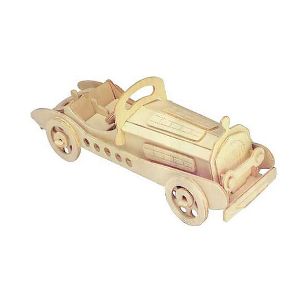Мерседес, Мир деревянных игрушекДеревянные модели<br>Оригинальный вариант подарка для любящего технику творческого ребенка - этот набор, из которого можно самому сделать красивую деревянную фигуру! Для этого нужно выдавить из пластины с деталями элементы для сборки и соединить их. Из наборов получаются красивые очень реалистичные игрушки, которые могут стать украшением комнаты.<br>Собирая их, ребенок будет развивать пространственное мышление, память и мелкую моторику. А раскрашивая готовое произведение, дети научатся подбирать цвета и будут развивать художественные навыки. Этот набор произведен из качественных и безопасных для детей материалов - дерево тщательно обработано.<br><br>Дополнительная информация:<br><br>материал: дерево;<br>цвет: бежевый;<br>элементы: пластины с деталями для сборки, схема сборки;<br>размер упаковки: 23 х 37 см.<br><br>3D-пазл Мерседес от бренда Мир деревянных игрушек можно купить в нашем магазине.<br><br>Ширина мм: 350<br>Глубина мм: 50<br>Высота мм: 225<br>Вес г: 450<br>Возраст от месяцев: 36<br>Возраст до месяцев: 144<br>Пол: Унисекс<br>Возраст: Детский<br>SKU: 4969098
