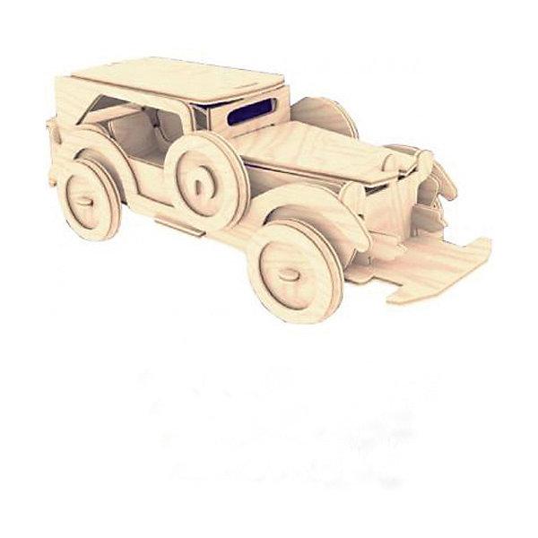 Форд, Мир деревянных игрушекДеревянные модели<br>Отличный вариант подарка для любящего технику творческого ребенка - этот набор, из которого можно самому сделать красивую деревянную фигуру! Для этого нужно выдавить из пластины с деталями элементы для сборки и соединить их. Из наборов получаются красивые очень реалистичные игрушки, которые могут стать украшением комнаты.<br>Собирая их, ребенок будет развивать пространственное мышление, память и мелкую моторику. А раскрашивая готовое произведение, дети научатся подбирать цвета и будут развивать художественные навыки. Этот набор произведен из качественных и безопасных для детей материалов - дерево тщательно обработано.<br><br>Дополнительная информация:<br><br>материал: дерево;<br>цвет: бежевый;<br>элементы: пластины с деталями для сборки, схема сборки;<br>размер упаковки: 23 х 37 см.<br><br>3D-пазл Форд от бренда Мир деревянных игрушек можно купить в нашем магазине.<br><br>Ширина мм: 350<br>Глубина мм: 50<br>Высота мм: 225<br>Вес г: 450<br>Возраст от месяцев: 36<br>Возраст до месяцев: 144<br>Пол: Унисекс<br>Возраст: Детский<br>SKU: 4969099