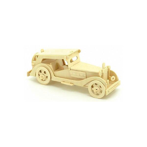 Автомобиль MG TS, Мир деревянных игрушекДеревянные модели<br>Отличный вариант подарка для любящего технику творческого ребенка - этот набор, из которого можно самому сделать красивую деревянную фигуру! Для этого нужно выдавить из пластины с деталями элементы для сборки и соединить их. Из наборов получаются красивые очень реалистичные игрушки, которые могут стать украшением комнаты.<br>Собирая их, ребенок будет развивать пространственное мышление, память и мелкую моторику. А раскрашивая готовое произведение, дети научатся подбирать цвета и будут развивать художественные навыки. Этот набор произведен из качественных и безопасных для детей материалов - дерево тщательно обработано.<br><br>Дополнительная информация:<br><br>материал: дерево;<br>цвет: бежевый;<br>элементы: пластины с деталями для сборки, схема сборки;<br>размер упаковки: 23 х 37 см.<br><br>3D-пазл Автомобиль MG TS от бренда Мир деревянных игрушек можно купить в нашем магазине.<br>Ширина мм: 350; Глубина мм: 50; Высота мм: 225; Вес г: 450; Возраст от месяцев: 36; Возраст до месяцев: 144; Пол: Унисекс; Возраст: Детский; SKU: 4969101;