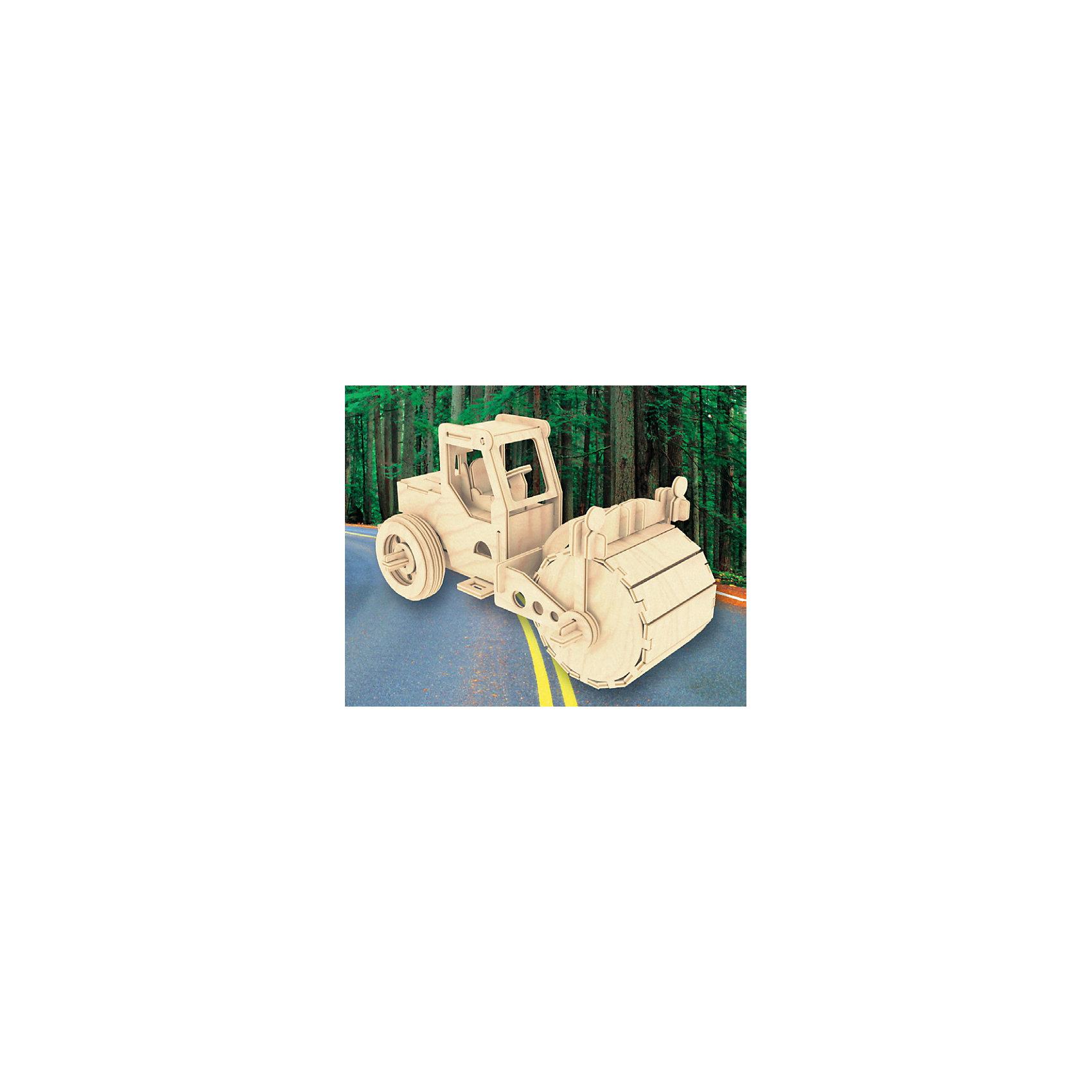 Каток, Мир деревянных игрушекИнтересный вариант подарка для любящего технику творческого ребенка - этот набор, из которого можно самому сделать красивую деревянную фигуру! Для этого нужно выдавить из пластины с деталями элементы для сборки и соединить их. Из наборов получаются красивые очень реалистичные игрушки, которые могут стать украшением комнаты.<br>Собирая их, ребенок будет развивать пространственное мышление, память и мелкую моторику. А раскрашивая готовое произведение, дети научатся подбирать цвета и будут развивать художественные навыки. Этот набор произведен из качественных и безопасных для детей материалов - дерево тщательно обработано.<br><br>Дополнительная информация:<br><br>материал: дерево;<br>цвет: бежевый;<br>элементы: пластины с деталями для сборки, схема сборки;<br>размер упаковки: 23 х 37 см.<br><br>3D-пазл Каток от бренда Мир деревянных игрушек можно купить в нашем магазине.<br><br>Ширина мм: 350<br>Глубина мм: 50<br>Высота мм: 225<br>Вес г: 450<br>Возраст от месяцев: 36<br>Возраст до месяцев: 144<br>Пол: Мужской<br>Возраст: Детский<br>SKU: 4969112