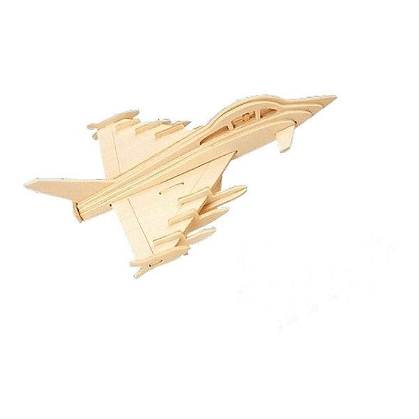 Истребитель, Мир деревянных игрушекДеревянные модели<br>Порадовать любящего технику творческого ребенка - легко! Подарите ему этот набор, из которого можно самому сделать красивую деревянную фигуру. Для этого нужно выдавить из пластины с деталями элементы для сборки и соединить их. Из наборов получаются красивые очень реалистичные игрушки, которые могут стать украшением комнаты.<br>Собирая их, ребенок будет развивать пространственное мышление, память и мелкую моторику. А раскрашивая готовое произведение, дети научатся подбирать цвета и будут развивать художественные навыки. Этот набор произведен из качественных и безопасных для детей материалов - дерево тщательно обработано.<br><br>Дополнительная информация:<br><br>материал: дерево;<br>цвет: бежевый;<br>элементы: пластины с деталями для сборки, схема сборки;<br>размер упаковки: 23 х 18 см.<br><br>3D-пазл Истребитель от бренда Мир деревянных игрушек можно купить в нашем магазине.<br><br>Ширина мм: 225<br>Глубина мм: 30<br>Высота мм: 180<br>Вес г: 450<br>Возраст от месяцев: 36<br>Возраст до месяцев: 144<br>Пол: Унисекс<br>Возраст: Детский<br>SKU: 4969124
