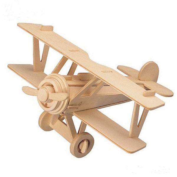 Самолет Ньюпорт 17, Мир деревянных игрушекДеревянные модели<br>Отличный вариант подарка для любящего технику творческого ребенка - этот набор, из которого можно самому сделать красивую деревянную фигуру! Для этого нужно выдавить из пластины с деталями элементы для сборки и соединить их. Из наборов получаются красивые очень реалистичные игрушки, которые могут стать украшением комнаты.<br>Собирая их, ребенок будет развивать пространственное мышление, память и мелкую моторику. А раскрашивая готовое произведение, дети научатся подбирать цвета и будут развивать художественные навыки. Этот набор произведен из качественных и безопасных для детей материалов - дерево тщательно обработано.<br><br>Дополнительная информация:<br><br>материал: дерево;<br>цвет: бежевый;<br>элементы: пластины с деталями для сборки, схема сборки;<br>размер упаковки: 23 х 18 см.<br><br>3D-пазл Самолет Ньюпорт 17 от бренда Мир деревянных игрушек можно купить в нашем магазине.<br><br>Ширина мм: 225<br>Глубина мм: 30<br>Высота мм: 180<br>Вес г: 450<br>Возраст от месяцев: 36<br>Возраст до месяцев: 144<br>Пол: Мужской<br>Возраст: Детский<br>SKU: 4969147