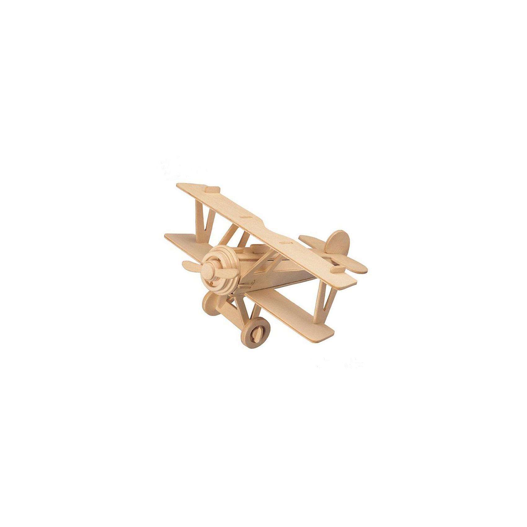 Самолет Ньюпорт 17, Мир деревянных игрушекОтличный вариант подарка для любящего технику творческого ребенка - этот набор, из которого можно самому сделать красивую деревянную фигуру! Для этого нужно выдавить из пластины с деталями элементы для сборки и соединить их. Из наборов получаются красивые очень реалистичные игрушки, которые могут стать украшением комнаты.<br>Собирая их, ребенок будет развивать пространственное мышление, память и мелкую моторику. А раскрашивая готовое произведение, дети научатся подбирать цвета и будут развивать художественные навыки. Этот набор произведен из качественных и безопасных для детей материалов - дерево тщательно обработано.<br><br>Дополнительная информация:<br><br>материал: дерево;<br>цвет: бежевый;<br>элементы: пластины с деталями для сборки, схема сборки;<br>размер упаковки: 23 х 18 см.<br><br>3D-пазл Самолет Ньюпорт 17 от бренда Мир деревянных игрушек можно купить в нашем магазине.<br><br>Ширина мм: 225<br>Глубина мм: 30<br>Высота мм: 180<br>Вес г: 9999<br>Возраст от месяцев: 36<br>Возраст до месяцев: 144<br>Пол: Мужской<br>Возраст: Детский<br>SKU: 4969147