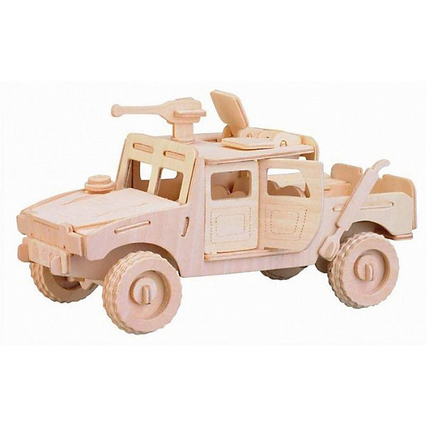 Хаммер, Мир деревянных игрушекДеревянные модели<br>Порадовать любящего технику творческого ребенка - легко! Подарите ему этот набор, из которого можно самому сделать красивую деревянную фигуру. Для этого нужно выдавить из пластины с деталями элементы для сборки и соединить их. Из наборов получаются красивые очень реалистичные игрушки, которые могут стать украшением комнаты.<br>Собирая их, ребенок будет развивать пространственное мышление, память и мелкую моторику. А раскрашивая готовое произведение, дети научатся подбирать цвета и будут развивать художественные навыки. Этот набор произведен из качественных и безопасных для детей материалов - дерево тщательно обработано.<br><br>Дополнительная информация:<br><br>материал: дерево;<br>цвет: бежевый;<br>элементы: пластины с деталями для сборки, схема сборки;<br>размер упаковки: 23 х 37 см.<br><br>3D-пазл Хаммер от бренда Мир деревянных игрушек можно купить в нашем магазине.<br><br>Ширина мм: 350<br>Глубина мм: 50<br>Высота мм: 225<br>Вес г: 450<br>Возраст от месяцев: 36<br>Возраст до месяцев: 144<br>Пол: Мужской<br>Возраст: Детский<br>SKU: 4969150