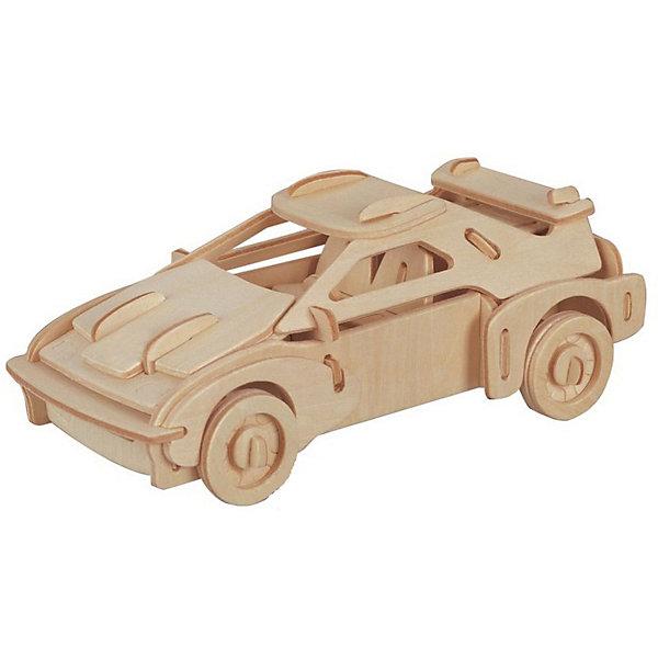 Феррари, Мир деревянных игрушекДеревянные модели<br>Порадовать любящего машины творческого ребенка - легко! Подарите ему этот набор, из которого можно самому сделать красивую деревянную фигуру. Для этого нужно выдавить из пластины с деталями элементы для сборки и соединить их. Из наборов получаются красивые очень реалистичные игрушки, которые могут стать украшением комнаты.<br>Собирая их, ребенок будет развивать пространственное мышление, память и мелкую моторику. А раскрашивая готовое произведение, дети научатся подбирать цвета и будут развивать художественные навыки. Этот набор произведен из качественных и безопасных для детей материалов - дерево тщательно обработано.<br><br>Дополнительная информация:<br><br>материал: дерево;<br>цвет: бежевый;<br>элементы: пластины с деталями для сборки, схема сборки;<br>размер упаковки: 23 х 37 см.<br><br>3D-пазл Феррари от бренда Мир деревянных игрушек можно купить в нашем магазине.<br><br>Ширина мм: 350<br>Глубина мм: 50<br>Высота мм: 225<br>Вес г: 350<br>Возраст от месяцев: 36<br>Возраст до месяцев: 144<br>Пол: Унисекс<br>Возраст: Детский<br>SKU: 4969152