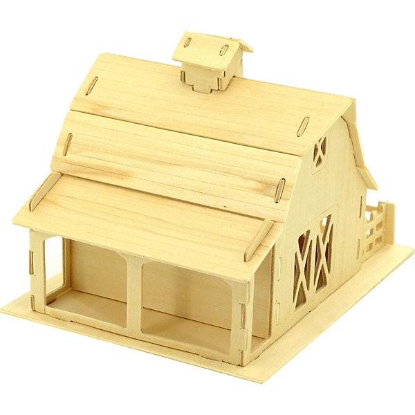 Ферма (серия П), Мир деревянных игрушекДеревянные модели<br>Отличный вариант подарка для любящего архитектуру творческого ребенка - этот набор, из которого можно самому сделать красивую деревянную фигуру! Для этого нужно выдавить из пластины с деталями элементы для сборки и соединить их. Из наборов получаются красивые очень реалистичные игрушки, которые могут стать украшением комнаты.<br>Собирая их, ребенок будет развивать пространственное мышление, память и мелкую моторику. А раскрашивая готовое произведение, дети научатся подбирать цвета и будут развивать художественные навыки. Этот набор произведен из качественных и безопасных для детей материалов - дерево тщательно обработано.<br><br>Дополнительная информация:<br><br>материал: дерево;<br>цвет: бежевый;<br>элементы: пластины с деталями для сборки, схема сборки;<br>размер упаковки: 23 х 18 см.<br><br>3D-пазл Ферма (серия П) от бренда Мир деревянных игрушек можно купить в нашем магазине.<br><br>Ширина мм: 225<br>Глубина мм: 30<br>Высота мм: 180<br>Вес г: 450<br>Возраст от месяцев: 36<br>Возраст до месяцев: 144<br>Пол: Унисекс<br>Возраст: Детский<br>SKU: 4969160