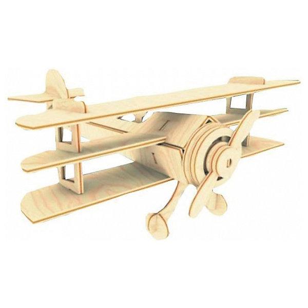 Триплан, Мир деревянных игрушекДеревянные модели<br>Порадовать любящего технику творческого ребенка - легко! Подарите ему этот набор, из которого можно самому сделать красивую деревянную фигуру. Для этого нужно выдавить из пластины с деталями элементы для сборки и соединить их. Из наборов получаются красивые очень реалистичные игрушки, которые могут стать украшением комнаты.<br>Собирая их, ребенок будет развивать пространственное мышление, память и мелкую моторику. А раскрашивая готовое произведение, дети научатся подбирать цвета и будут развивать художественные навыки. Этот набор произведен из качественных и безопасных для детей материалов - дерево тщательно обработано.<br><br>Дополнительная информация:<br><br>материал: дерево;<br>цвет: бежевый;<br>элементы: пластины с деталями для сборки, схема сборки;<br>размер упаковки: 23 х 18 см.<br><br>3D-пазл Триплан от бренда Мир деревянных игрушек можно купить в нашем магазине.<br><br>Ширина мм: 225<br>Глубина мм: 30<br>Высота мм: 180<br>Вес г: 350<br>Возраст от месяцев: 36<br>Возраст до месяцев: 144<br>Пол: Унисекс<br>Возраст: Детский<br>SKU: 4969165
