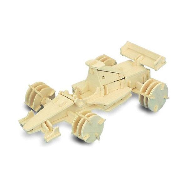 Формула 1, Мир деревянных игрушекДеревянные модели<br>Порадовать любящего гонки творческого ребенка - легко! Подарите ему этот набор, из которого можно самому сделать красивую деревянную фигуру. Для этого нужно выдавить из пластины с деталями элементы для сборки и соединить их. Из наборов получаются красивые очень реалистичные игрушки, которые могут стать украшением комнаты.<br>Собирая их, ребенок будет развивать пространственное мышление, память и мелкую моторику. А раскрашивая готовое произведение, дети научатся подбирать цвета и будут развивать художественные навыки. Этот набор произведен из качественных и безопасных для детей материалов - дерево тщательно обработано.<br><br>Дополнительная информация:<br><br>материал: дерево;<br>цвет: бежевый;<br>элементы: пластины с деталями для сборки, схема сборки;<br>размер упаковки: 23 х 37 см.<br><br>3D-пазл Формула 1 от бренда Мир деревянных игрушек можно купить в нашем магазине.<br><br>Ширина мм: 350<br>Глубина мм: 50<br>Высота мм: 225<br>Вес г: 450<br>Возраст от месяцев: 36<br>Возраст до месяцев: 144<br>Пол: Мужской<br>Возраст: Детский<br>SKU: 4969172