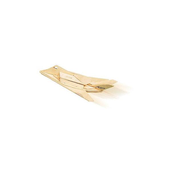 Самолет F117, Мир деревянных игрушекДеревянные модели<br>Отличный вариант подарка для любящего военную технику творческого ребенка - этот набор, из которого можно самому сделать красивую деревянную фигуру! Для этого нужно выдавить из пластины с деталями элементы для сборки и соединить их. Из наборов получаются красивые очень реалистичные игрушки, которые могут стать украшением комнаты.<br>Собирая их, ребенок будет развивать пространственное мышление, память и мелкую моторику. А раскрашивая готовое произведение, дети научатся подбирать цвета и будут развивать художественные навыки. Этот набор произведен из качественных и безопасных для детей материалов - дерево тщательно обработано.<br><br>Дополнительная информация:<br><br>материал: дерево;<br>цвет: бежевый;<br>элементы: пластины с деталями для сборки, схема сборки;<br>размер упаковки: 23 х 37 см.<br><br>3D-пазл Самолет F117 от бренда Мир деревянных игрушек можно купить в нашем магазине.<br>Ширина мм: 350; Глубина мм: 50; Высота мм: 225; Вес г: 450; Возраст от месяцев: 36; Возраст до месяцев: 144; Пол: Унисекс; Возраст: Детский; SKU: 4969176;