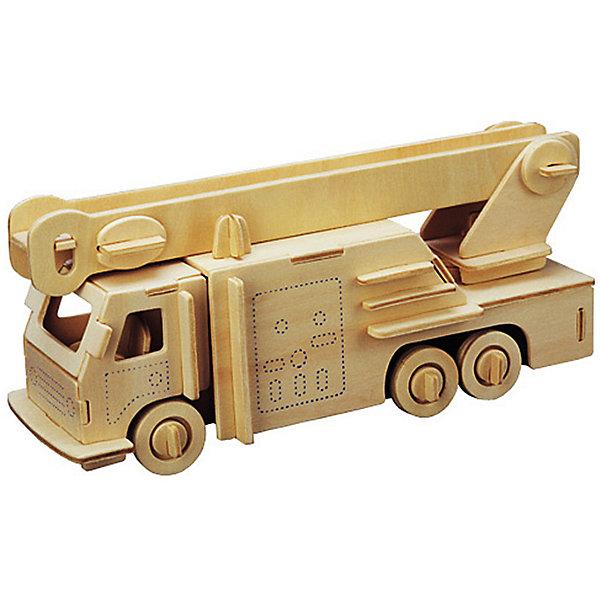 Пожарная машина, Мир деревянных игрушекДеревянные модели<br>Порадовать любящего технику творческого ребенка - легко! Подарите ему этот набор, из которого можно самому сделать красивую деревянную фигуру. Для этого нужно выдавить из пластины с деталями элементы для сборки и соединить их. Из наборов получаются красивые очень реалистичные игрушки, которые могут стать украшением комнаты.<br>Собирая их, ребенок будет развивать пространственное мышление, память и мелкую моторику. А раскрашивая готовое произведение, дети научатся подбирать цвета и будут развивать художественные навыки. Этот набор произведен из качественных и безопасных для детей материалов - дерево тщательно обработано.<br><br>Дополнительная информация:<br><br>материал: дерево;<br>цвет: бежевый;<br>элементы: пластины с деталями для сборки, схема сборки;<br>размер упаковки: 23 х 37 см.<br><br>3D-пазл Пожарная машина от бренда Мир деревянных игрушек можно купить в нашем магазине.<br>Ширина мм: 350; Глубина мм: 50; Высота мм: 225; Вес г: 350; Возраст от месяцев: 36; Возраст до месяцев: 144; Пол: Мужской; Возраст: Детский; SKU: 4969194;
