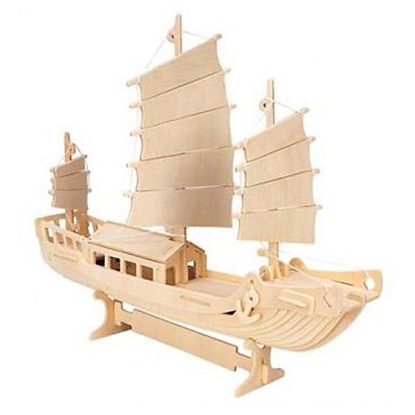 Корабль-охранник, Мир деревянных игрушекДеревянные модели<br>Удачный вариант подарка для любящего морские суда творческого ребенка - этот набор, из которого можно самому сделать красивую деревянную фигуру! Для этого нужно выдавить из пластины с деталями элементы для сборки и соединить их. Из наборов получаются красивые очень реалистичные игрушки, которые могут стать украшением комнаты.<br>Собирая их, ребенок будет развивать пространственное мышление, память и мелкую моторику. А раскрашивая готовое произведение, дети научатся подбирать цвета и будут развивать художественные навыки. Этот набор произведен из качественных и безопасных для детей материалов - дерево тщательно обработано.<br><br>Дополнительная информация:<br><br>материал: дерево;<br>цвет: бежевый;<br>элементы: пластины с деталями для сборки, схема сборки;<br>размер упаковки: 23 х 37 см.<br><br>3D-пазл Корабль-охранник от бренда Мир деревянных игрушек можно купить в нашем магазине.<br><br>Ширина мм: 350<br>Глубина мм: 50<br>Высота мм: 225<br>Вес г: 450<br>Возраст от месяцев: 36<br>Возраст до месяцев: 144<br>Пол: Унисекс<br>Возраст: Детский<br>SKU: 4969209