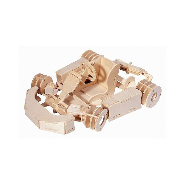 Карт, Мир деревянных игрушекДеревянные модели<br>Порадовать творческого ребенка и любителя техники - легко! Закажите для него этот набор, из которого можно самому сделать красивую деревянную фигуру! Для этого нужно выдавить из пластины с деталями элементы для сборки и соединить их. Из наборов получаются красивые очень реалистичные игрушки, которые могут стать украшением комнаты.<br>Собирая их, ребенок будет развивать пространственное мышление, память и мелкую моторику. А раскрашивая готовое произведение, дети научатся подбирать цвета и будут развивать художественные навыки. Этот набор произведен из качественных и безопасных для детей материалов - дерево тщательно обработано.<br><br>Дополнительная информация:<br><br>материал: дерево;<br>цвет: бежевый;<br>элементы: пластины с деталями для сборки, схема сборки;<br>размер упаковки: 23 х 37 см.<br><br>3D-пазл Карт от бренда Мир деревянных игрушек можно купить в нашем магазине.<br>Ширина мм: 350; Глубина мм: 50; Высота мм: 225; Вес г: 450; Возраст от месяцев: 36; Возраст до месяцев: 144; Пол: Мужской; Возраст: Детский; SKU: 4969223;