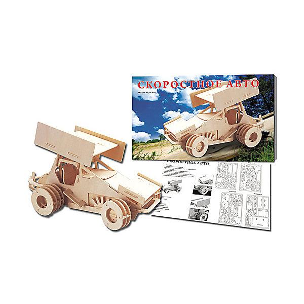 Гоночный автомобиль, Мир деревянных игрушекДеревянные модели<br>Удачный вариант подарка для любящего гонки творческого ребенка - этот набор, из которого можно самому сделать красивую деревянную фигуру! Для этого нужно выдавить из пластины с деталями элементы для сборки и соединить их. Из наборов получаются красивые очень реалистичные игрушки, которые могут стать украшением комнаты.<br>Собирая их, ребенок будет развивать пространственное мышление, память и мелкую моторику. А раскрашивая готовое произведение, дети научатся подбирать цвета и будут развивать художественные навыки. Этот набор произведен из качественных и безопасных для детей материалов - дерево тщательно обработано.<br><br>Дополнительная информация:<br><br>материал: дерево;<br>цвет: бежевый;<br>элементы: пластины с деталями для сборки, схема сборки;<br>размер упаковки: 23 х 18 см.<br><br>3D-пазл Гоночный автомобиль от бренда Мир деревянных игрушек можно купить в нашем магазине.<br>Ширина мм: 350; Глубина мм: 50; Высота мм: 225; Вес г: 450; Возраст от месяцев: 36; Возраст до месяцев: 144; Пол: Мужской; Возраст: Детский; SKU: 4969224;