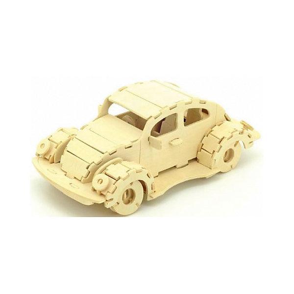 Фольксваген Жук, Мир деревянных игрушекДеревянные модели<br>Порадовать творческого ребенка и любителя машин - легко! Закажите для него этот набор, из которого можно самому сделать красивую деревянную фигуру! Для этого нужно выдавить из пластины с деталями элементы для сборки и соединить их. Из наборов получаются красивые очень реалистичные игрушки, которые могут стать украшением комнаты.<br>Собирая их, ребенок будет развивать пространственное мышление, память и мелкую моторику. А раскрашивая готовое произведение, дети научатся подбирать цвета и будут развивать художественные навыки. Этот набор произведен из качественных и безопасных для детей материалов - дерево тщательно обработано.<br><br>Дополнительная информация:<br><br>материал: дерево;<br>цвет: бежевый;<br>элементы: пластины с деталями для сборки, схема сборки;<br>размер упаковки: 23 х 18 см.<br><br>3D-пазл Фольксваген Жук от бренда Мир деревянных игрушек можно купить в нашем магазине.<br>Ширина мм: 225; Глубина мм: 30; Высота мм: 180; Вес г: 350; Возраст от месяцев: 36; Возраст до месяцев: 144; Пол: Унисекс; Возраст: Детский; SKU: 4969227;