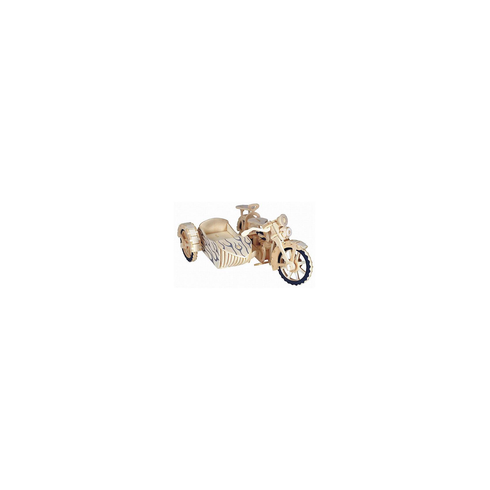 МДИ Мотоцикл с люлькой, Мир деревянных игрушек игрушка мир деревянных игрушек лабиринт слон д345