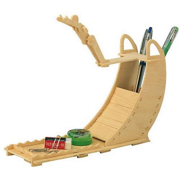 Ныряльщик, Мир деревянных игрушекДеревянные модели<br>Порадовать творческого ребенка или любителя спорта - легко! Закажите для него этот набор, из которого можно самому сделать красивую деревянную фигуру! Для этого нужно выдавить из пластины с деталями элементы для сборки и соединить их. Из наборов получаются красивые очень реалистичные игрушки, которые могут стать украшением комнаты, одновременно это - подставка под канцелярские принадлежности.<br>Собирая их, ребенок будет развивать пространственное мышление, память и мелкую моторику. А раскрашивая готовое произведение, дети научатся подбирать цвета и будут развивать художественные навыки. Этот набор произведен из качественных и безопасных для детей материалов - дерево тщательно обработано.<br><br>Дополнительная информация:<br><br>материал: дерево;<br>цвет: бежевый;<br>элементы: пластины с деталями для сборки, схема сборки, наждачная бумага;<br>размер упаковки: 23 х 18 см.<br><br>3D-пазл Ныряльщик от бренда Мир деревянных игрушек можно купить в нашем магазине.<br>Ширина мм: 225; Глубина мм: 30; Высота мм: 180; Вес г: 450; Возраст от месяцев: 36; Возраст до месяцев: 144; Пол: Мужской; Возраст: Детский; SKU: 4969242;