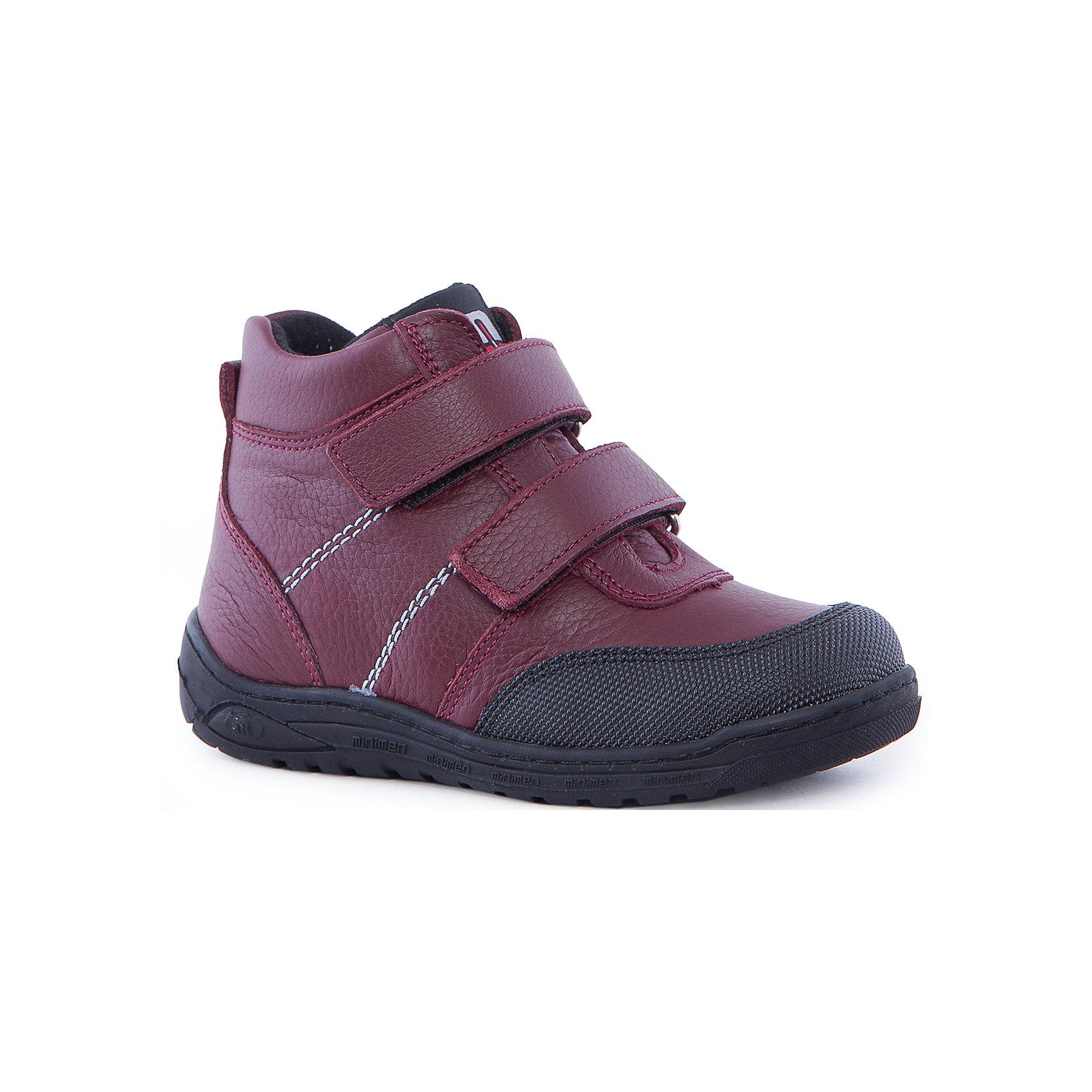 Ботинки для девочки MinimenБотинки<br>Ботиночки от Minimen очень удобны и прекрасно фиксируют ногу. Кроме того, они обладают ортопедическими свойствами, что поможет стопе ребенка развиваться правильно. Ботинки застегиваются на липучки и легко одеваются. Подойдут для осени и теплой зимы.<br><br>Дополнительная информация:<br>Стелька: супинатор<br>Цвет: бордовый<br>Сезон: осень-зима<br>Материал: 100% кожа, текстиль<br><br>Ботинки Minimen вы можете приобрести в нашем интернет-магазине.<br><br>Ширина мм: 262<br>Глубина мм: 176<br>Высота мм: 97<br>Вес г: 427<br>Цвет: красный<br>Возраст от месяцев: 24<br>Возраст до месяцев: 24<br>Пол: Женский<br>Возраст: Детский<br>Размер: 25,30,29,28,27,26<br>SKU: 4969768