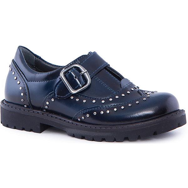 Ботинки для девочки MinimenОбувь<br>Ботинки из натуральной кожи от Minimen. Эти ботинки имеют плотную резиновую подошву, исключающую намокание ног у ребенка. Ортопедическая стелька поможет избежать плоскостопия. Двойная прошивка швов обеспечит долговечность обуви. Ботиночки застегиваются с помощью ремешка, украшены стразами.<br><br>Дополнительная информация:<br>Стелька: супинатор<br>Цвет: синий<br>Сезон: осень-зима<br>Материал: 100% кожа<br><br>Полуботинки Minimen вы можете купить в нашем интернет-магазине.<br>Ширина мм: 262; Глубина мм: 176; Высота мм: 97; Вес г: 427; Цвет: синий; Возраст от месяцев: 60; Возраст до месяцев: 72; Пол: Женский; Возраст: Детский; Размер: 29,26,30,28,27; SKU: 4969894;