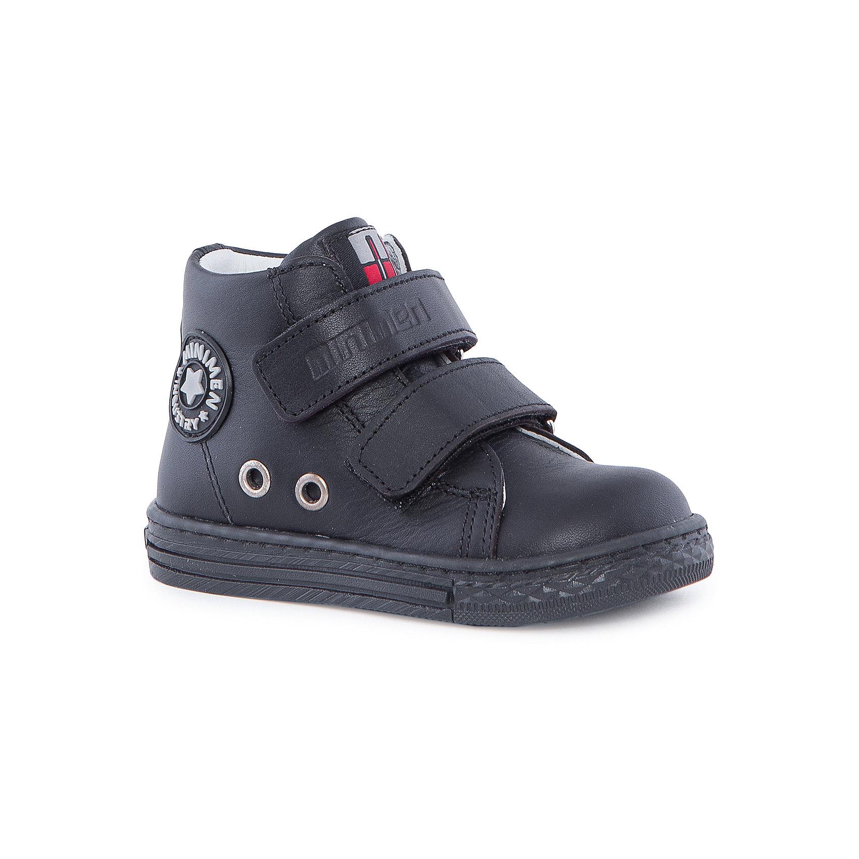 Ботинки для мальчика MinimenБотинки<br>Стильные и практичные ботиночки от Minimen. Они имеют ортопедическую стельку и толстую подошву. Ботинки легко надевать и застегивать при помощи липучек. Кроме того, вы можете не переживать о промокших ногах, если ребенок пройдет по луже. Отлично подойдут для осени.<br><br>Дополнительная информация:<br>Стелька: супинатор<br>Цвет: темно-синий<br>Сезон: осень<br>Материал: кожа<br><br>Ботинки Minimen можно купить в нашем интернет-магазине.<br><br>Ширина мм: 262<br>Глубина мм: 176<br>Высота мм: 97<br>Вес г: 427<br>Цвет: синий<br>Возраст от месяцев: 60<br>Возраст до месяцев: 72<br>Пол: Мужской<br>Возраст: Детский<br>Размер: 29,27,28,30,25,26<br>SKU: 4970010